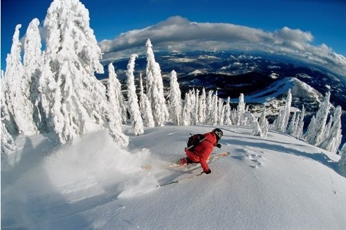 Red Mountain Resort, B.C. - my favourite place to ski #CDNGetaway