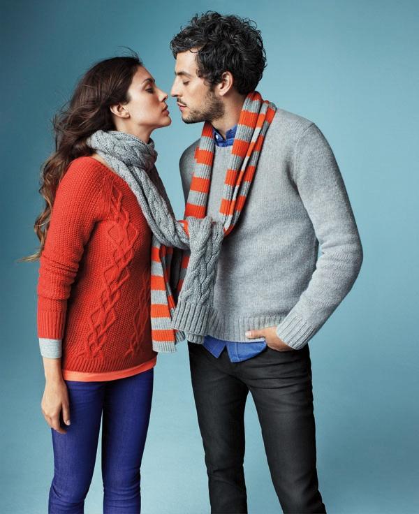 カシミヤのマフラーが恋しい冬。    Rugby stripe scarf #GapLove