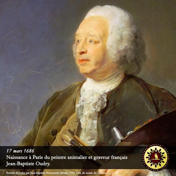 #Éphéméride : 17 mars 1686, naissance à Paris du peintre animalier et graveur français Jean-Baptiste Oudry. - institut-iliade.com