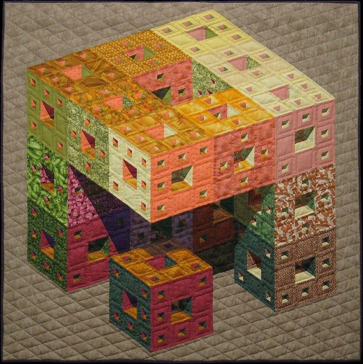 Menger's Cube by Arnout Cosman