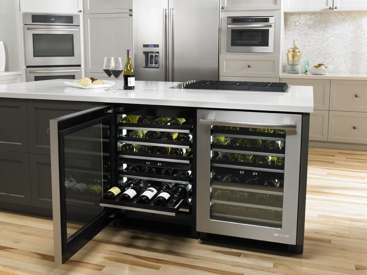 With The Unbeatable Combination Of The Jenn Air Under Counter Wine Cellar  Which Holds Up