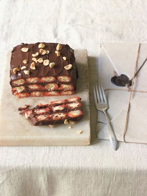 'Instant' Chocolate Cake by Francine Segan from 'Dolci: Italy's Sweets' via projectfoodie: