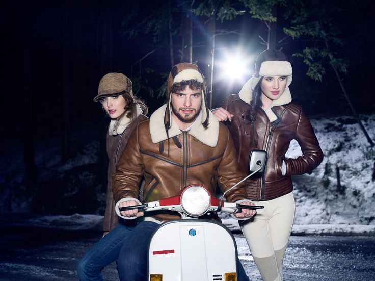leather hats by GENA (Calgary, Heston, Soria)