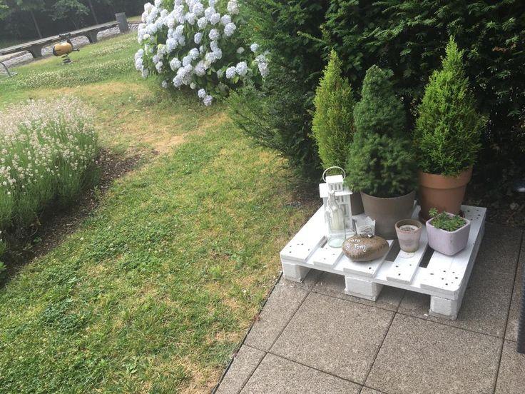 Ein Schönes DIY Blumen Podest! Einfach Lackieren   Schon Fertig! #ideen #diy
