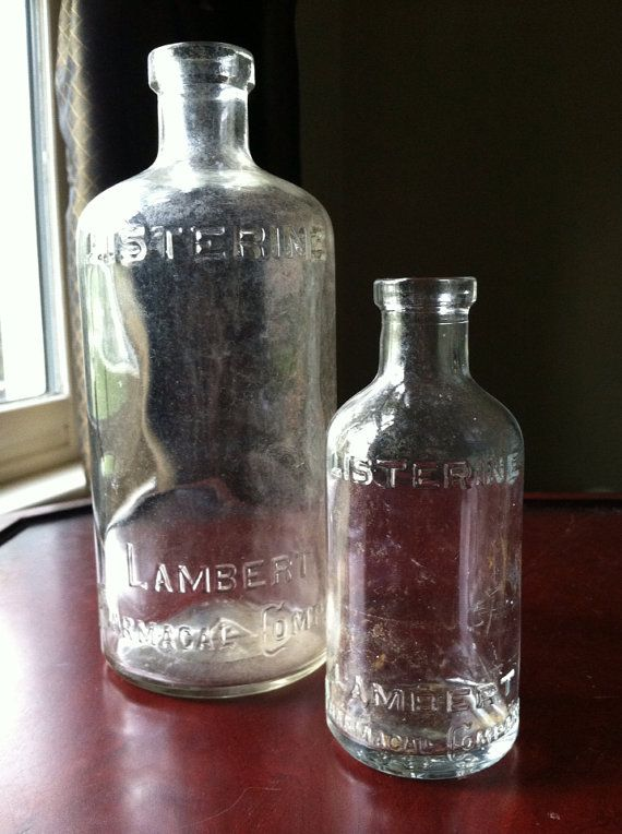 Antique Bathroom Decor 2 Lambert Pharmacal by ClosetConsignment