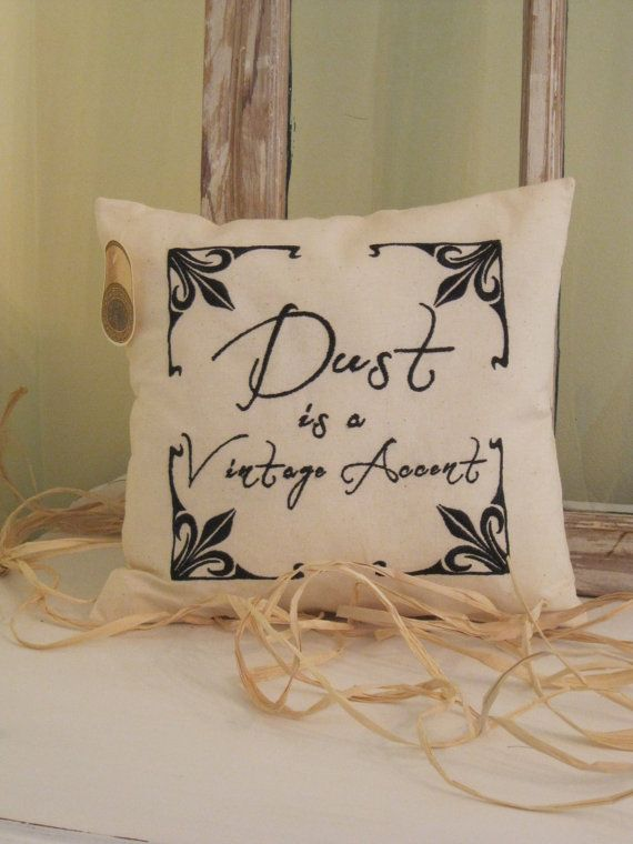 Dust is a Vintage Accent cotton embroidered by BrambleWoodANDivy