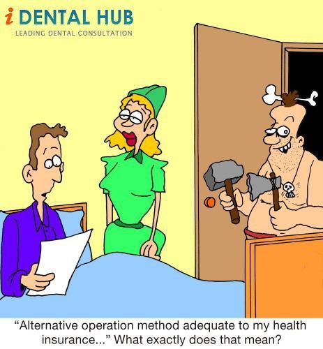 Alternative operation method adequate to my health insurance