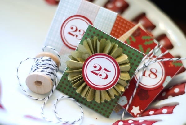 #DIY Advent Calendar with #free download