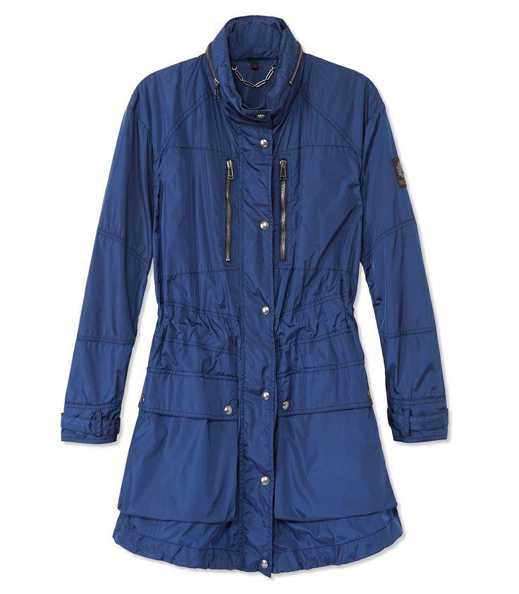Belstaff Devon Parka - How to Wear a Shirtdress Now http://shop.harpersbazaar.com/blog/style-qa-wearing-a-shirtdress-now/
