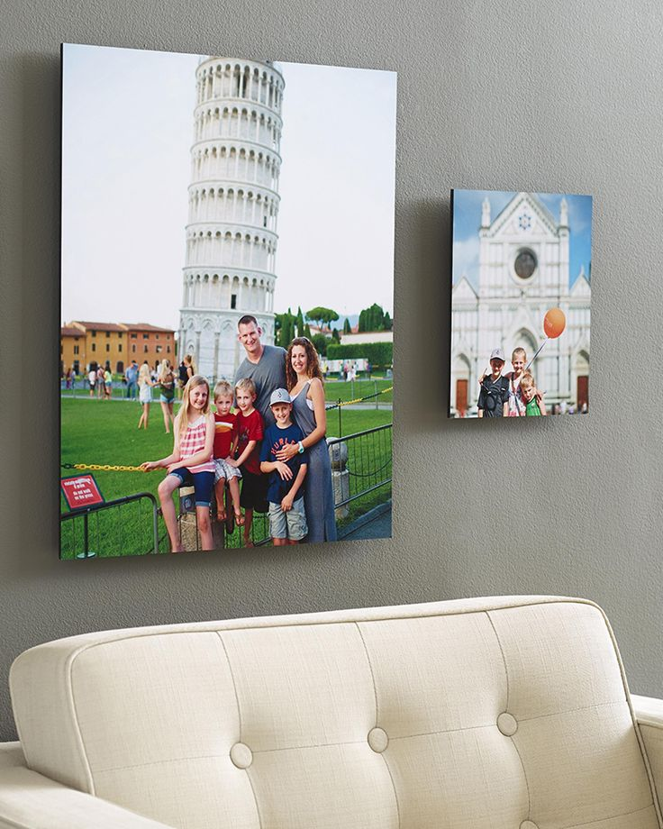 Share your travel memories by creating personalized wall art for the home shutterfly