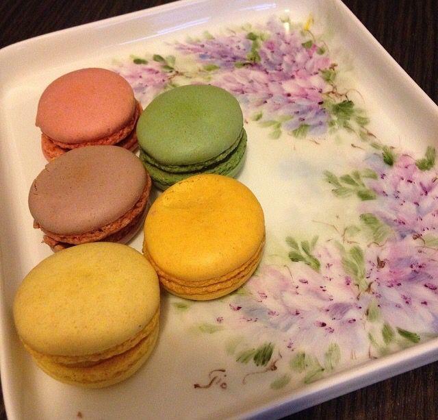 I love breakfast ,Macarons,  good morning, Bonjour, colazione, ladurée, Paris