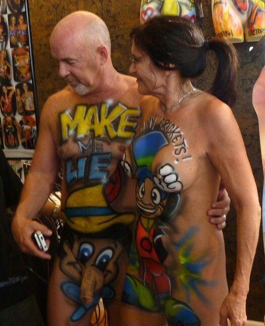 Love this couples idea, fantasy fest Key West
