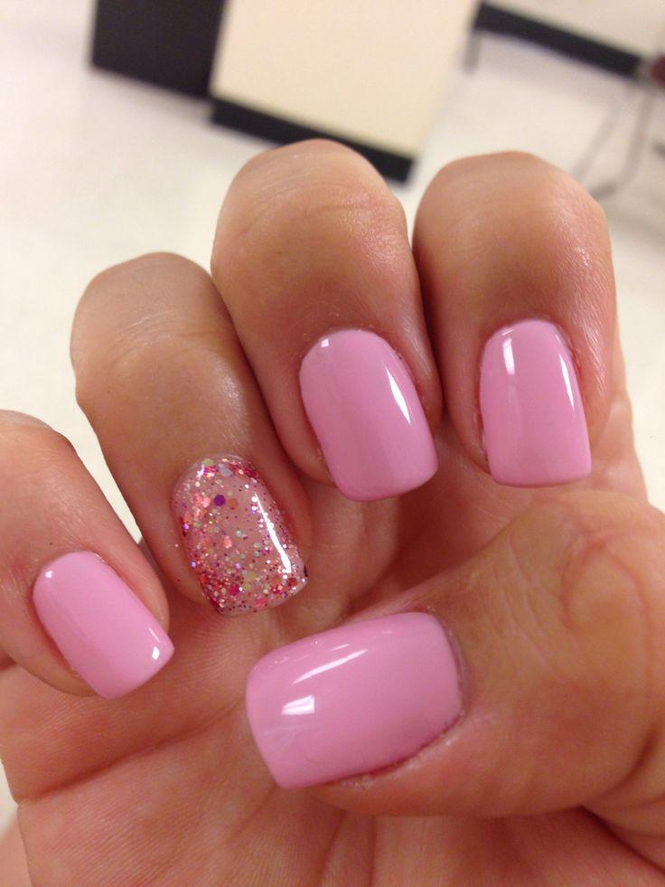 Bubble Nails: Bubble Gum Pink Nails