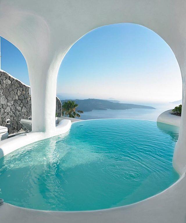 Dana Villas, Santorini, Greece #thecoolhunter