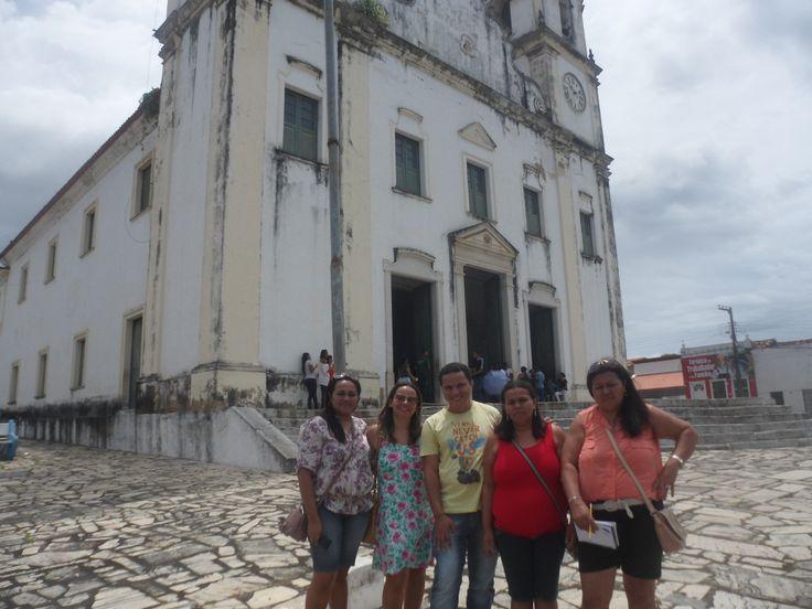 Eu, e minhas amigas Lurdinha, Tânia, Goreth e a nossa professora tutora Isa