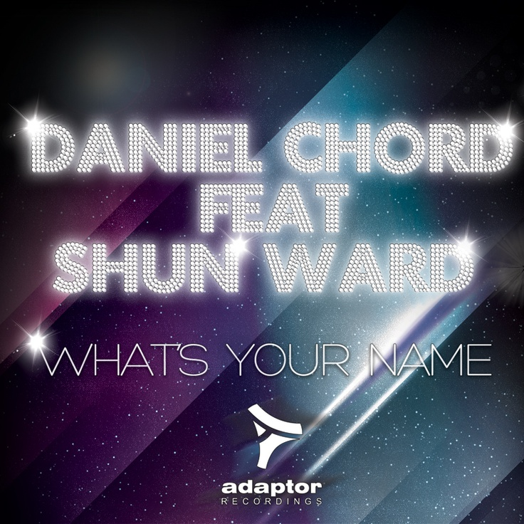 Adaptor Artwork for the first Daniel Chord's release on the label