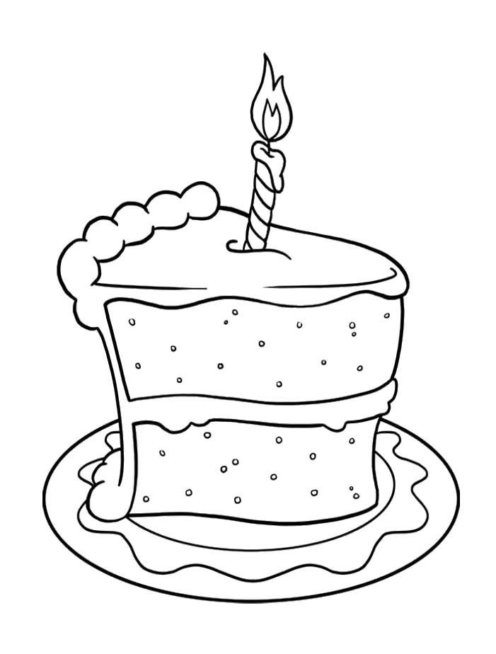 Tom And Jerry Cake Coloring Pages For Kids Printable Free
