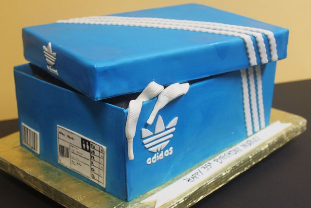 Adidas Shoe Box by Alliance Bakery, via Flickr
