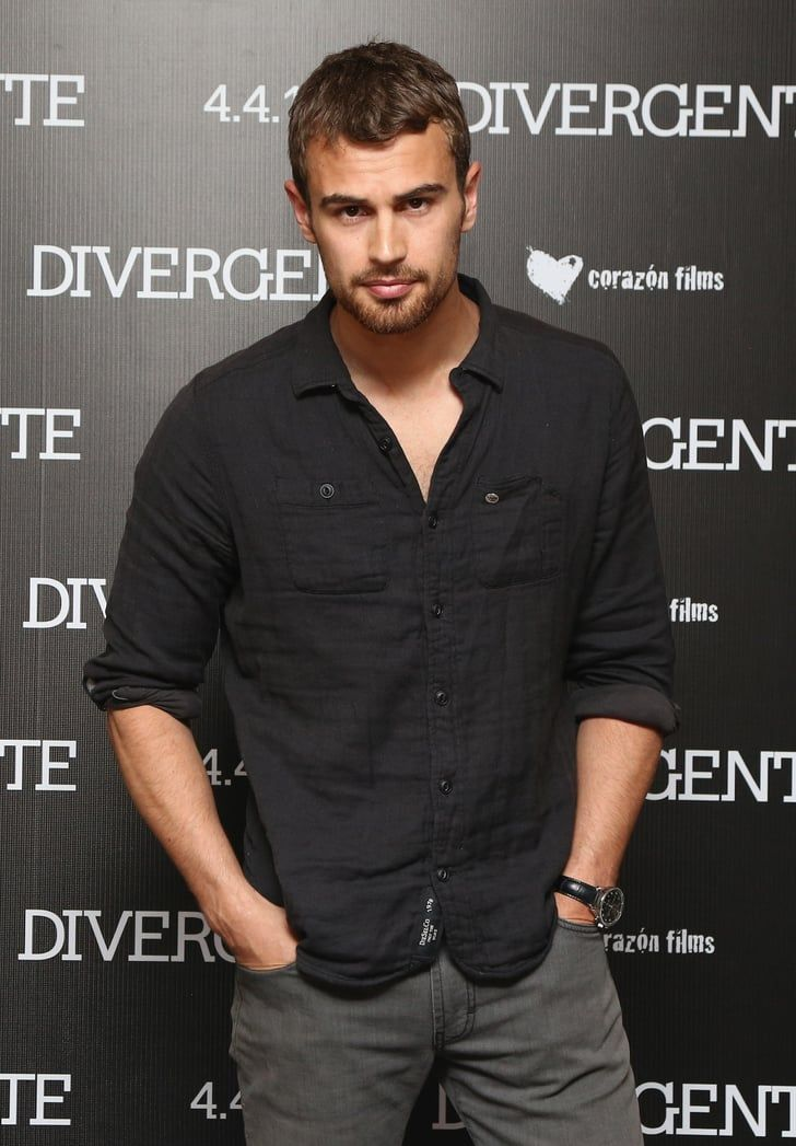 Celebrity Entertainment With Images Theo James Divergent