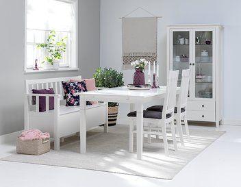 AULUM pöytä/2lisälevyä+2 tuolia+penkki