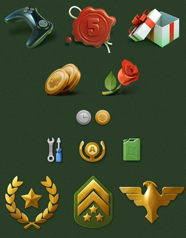Pilots Path iOS Game by Aleksandr Novoselov, via Behance love this style.