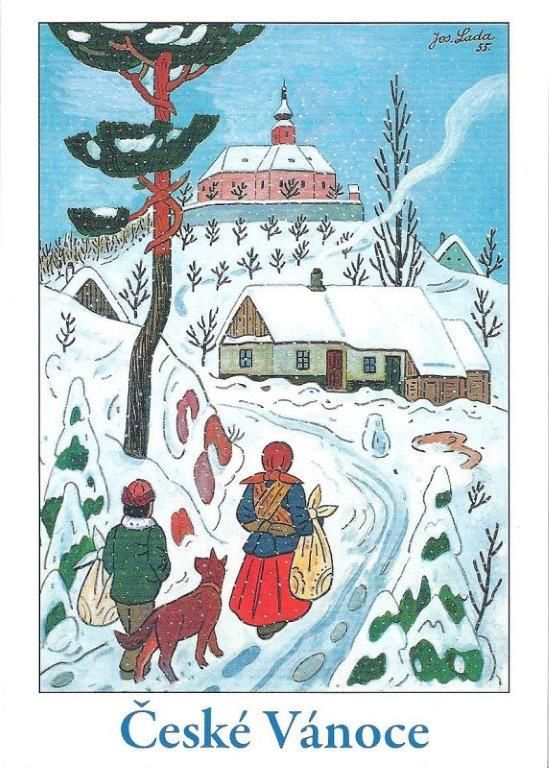 JOSEF LADA (1887 – 1957) Christmas Vánoce