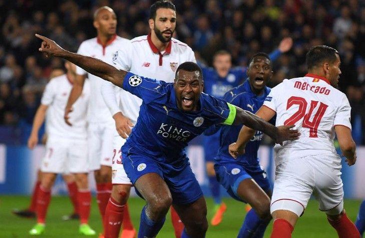 Video Skor Leicester City vs Sevilla 2-0 Hasil Liga Champion 2017