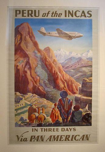 Vintage Travel Poster - Peru