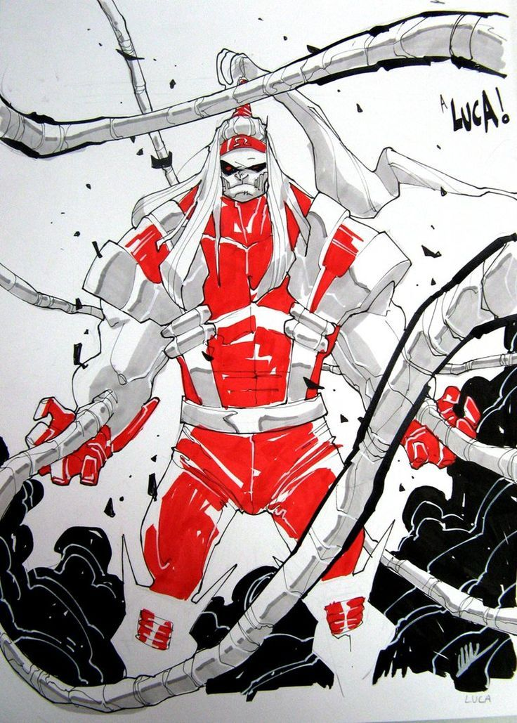 Omega Red by Matteo Scalera