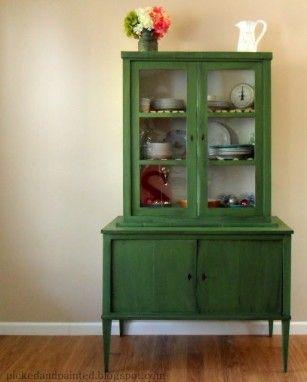 Het groene groen | roomed.nl (kleur dressoir)
