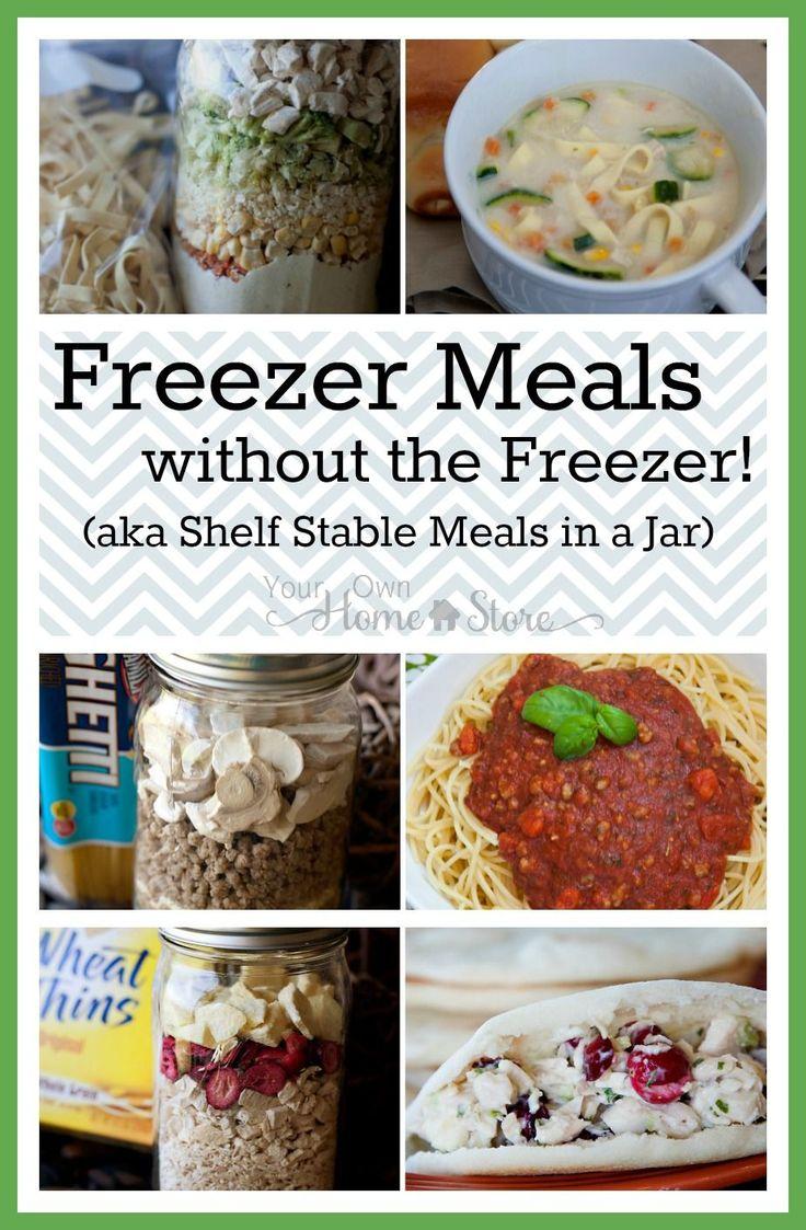 Freezer Meals without the freezer