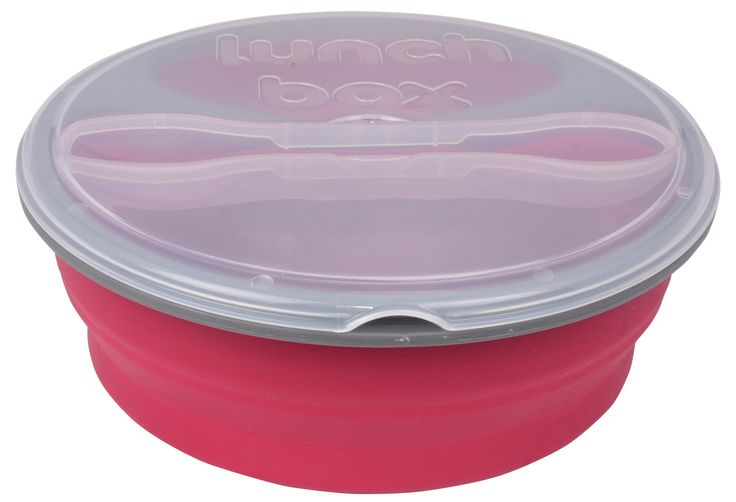 Double compartment Lunch Box Comes with Spork