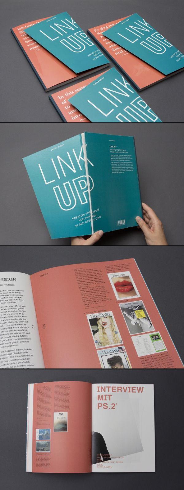 Link Up #editorial #design