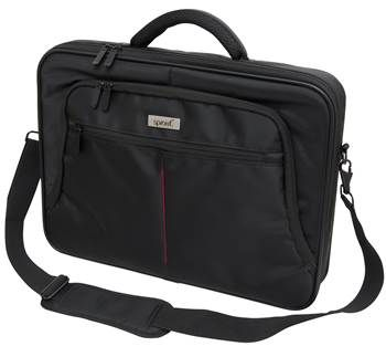 """Form & Function for larger laptops! Featuring simple, sophisticated styling, this briefcase is made from the strongest and most durable materials. It will accommodate laptops up to 15"""" and has adequate compartments and pockets for additional equipment. #sprout #mac #laptop"""