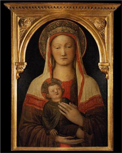 Madonna and Child - Jacopo Bellini