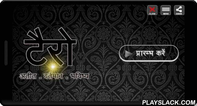 Tarot In Hindi  Android App - playslack.com , Presenting an app to perform correct prediction of your past, present and future. Clean and clear interface and fully written in Hindi. + Clean and clear interface. + Completely written in HindiThis app is based on famous Tarot Card reading techniques available. We have done enough research to provide most accurate, highly accepted and most trusted method of card reading. This Tarot Card Reader is proud to be in Hindi for our Hindi readers. If…