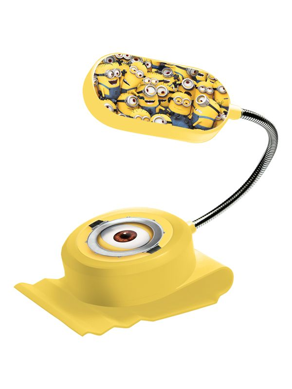 Despicable Me Minions Clip On Bed Light. More Minion items available at Play Rooms...