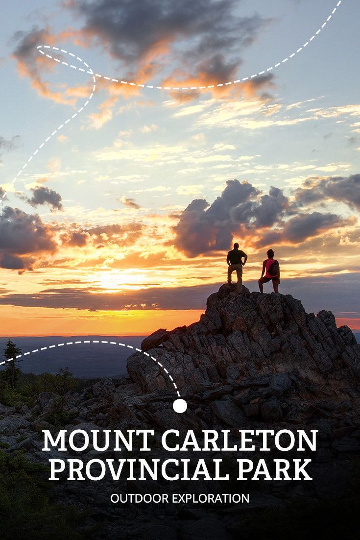 The Appalachian Adventure Road Trip stop #5 MOUNT CARLETON PROVINCIAL PARK | Ever wonder what 10-million treetops look like? Now's your chance to find out. You'll spot wild animals and rare plants, too, at this designated Dark Sky Preserve.