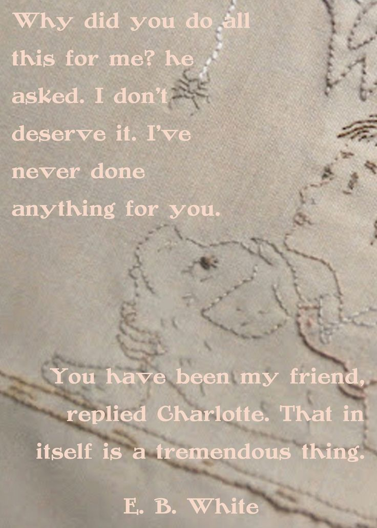 Charlotte's Web quote...made by me, with embroidery by all things belle http://allthingsbelle.blogspot.com/2012/07/charlottes-web-embroidered-cover-art.html#.UCr81t1mTa4