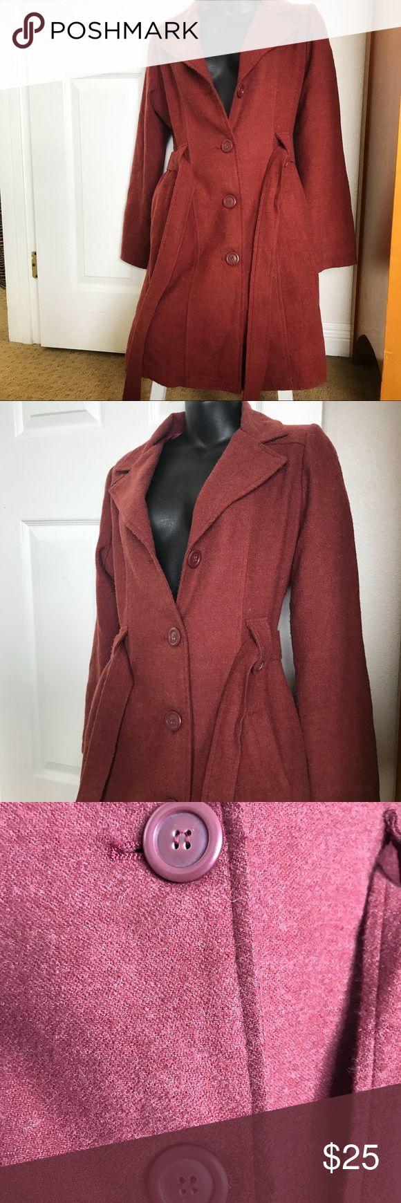 Doki-Geki American Brand Brick Red Pea 🧥 Coat Doki-Geki American Brand Brick Red Pea 🧥  Coat. Size Large. Beautiful coat. Doki-Geki Jackets & Coats Pea Coats