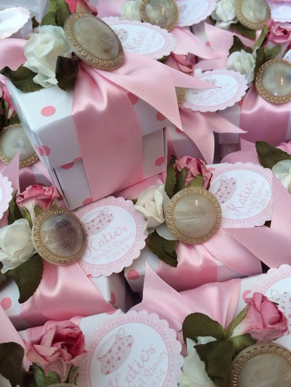 this listing is for a set of 10 2 x 2 polka dot box favors