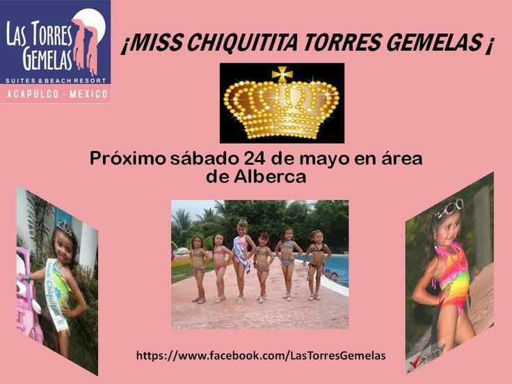 Una excelente oportunidad para las pequeñas princesas del hogar, Hotel Las Torres Gemelas Acapulco una buena opción para tu diversión