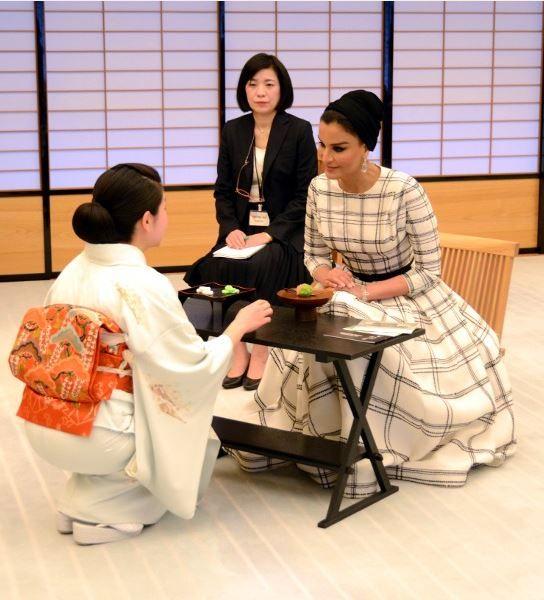 beautiful dress while visiting Japan