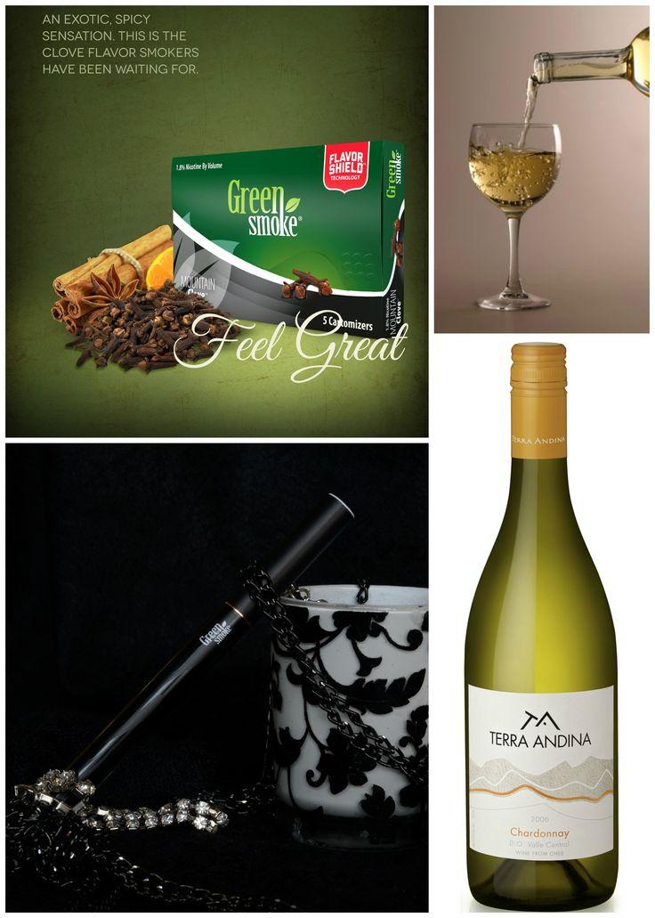Mountain Clove și Chardonnay  http://www.greensmoke.ro/