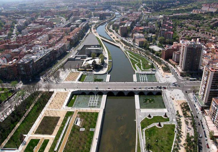 Madrid RIO: прогулочная зона вместо эстакады