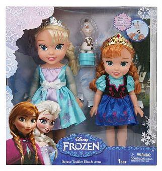 Игровой набор Эльза, Анна и Олаф Холодное Сердце Disney Princess (Принцессы Дисней) Jakks Pacific