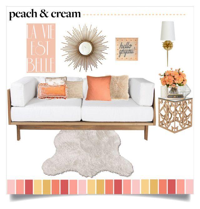 Peach And Cream Peaches Interior Decorating And Design