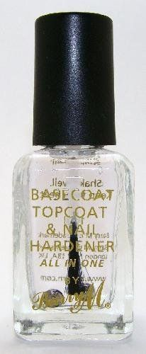 From 5.99 Barry M Nail Paint - Clear 3in1 Basecoat Topcoat & Nail Hardener (54)