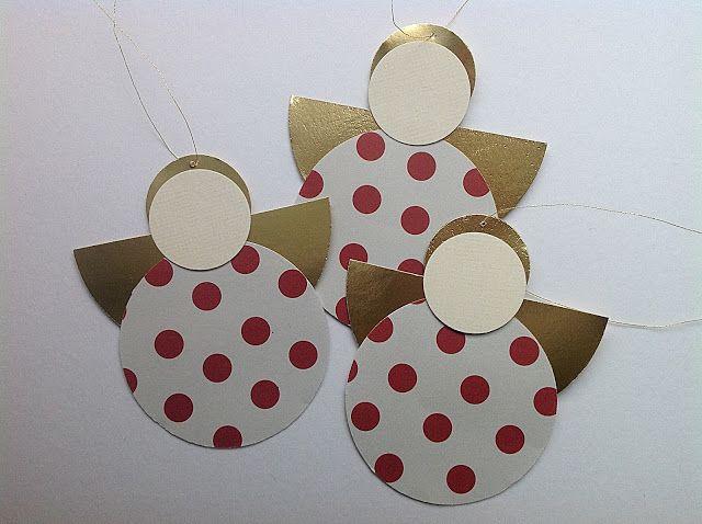 Bellas bedrifter: Cirkel-engle i papir...