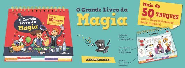 Sinfonia dos Livros: Novidade BookSmile   O Grande Livro da Magia - per...